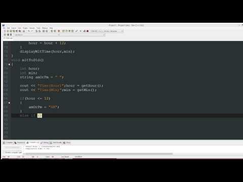 C++ Tutorial: Time Conversion