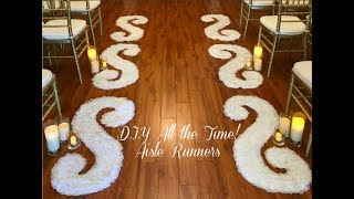 D.I.Y All the Time! Aisle Runner