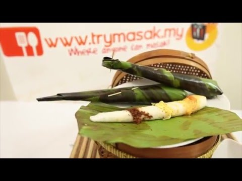 Nasi Tumpang | Malaysian Layered Rice In Banana Leaf