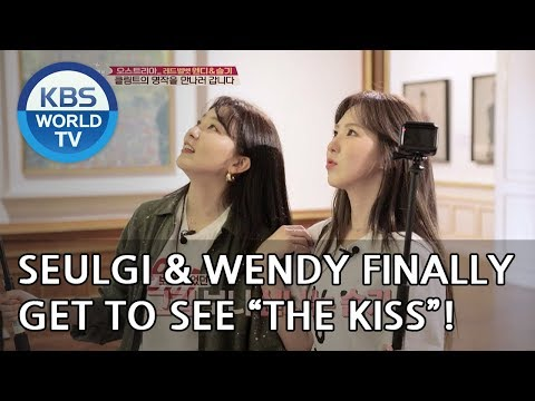 Seulgi and Wendy finally get to see