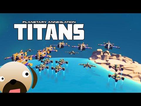 LEGION AIR WARS - Planetary Annihilation Titans Multiplayer