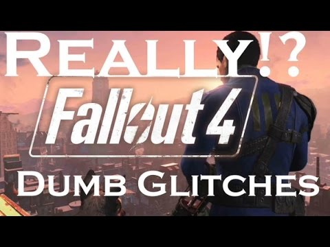 Fallout 4 - Falling Through the Floor Glitch Cambridge Police Station PS4