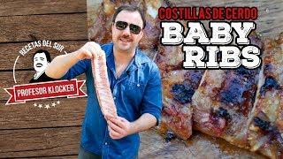 Costillas de cerdo Baby Ribs -  Recetas del Sur