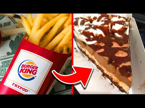 Top 10 Burger King Menu Items Ranked WORST to BEST