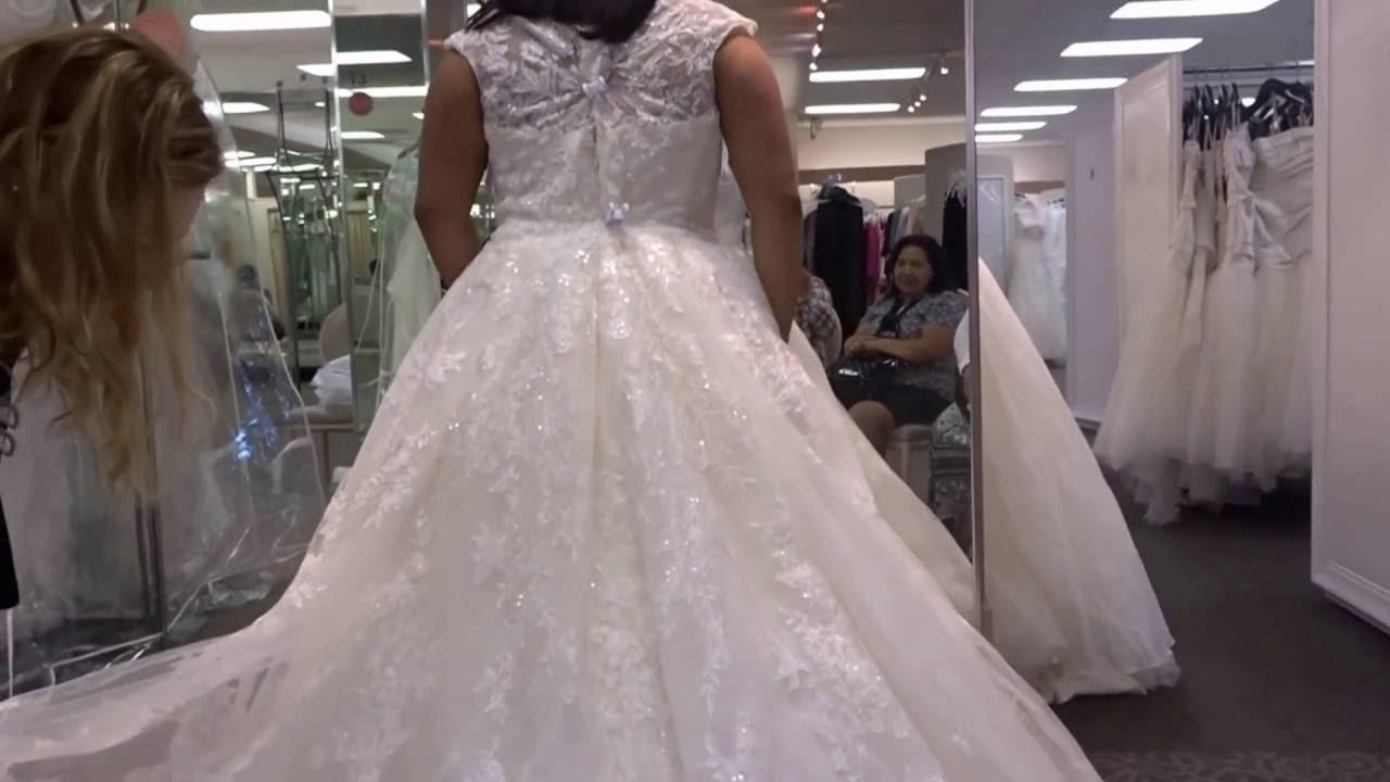 Wedding Dress Shopping At Davids Bridal Torrance