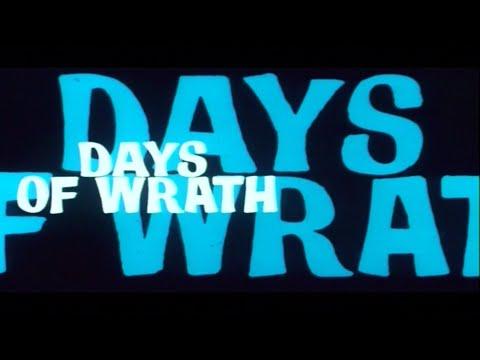 Days of Wrath I giorni dell'ira English  designed by Iginio Lardani