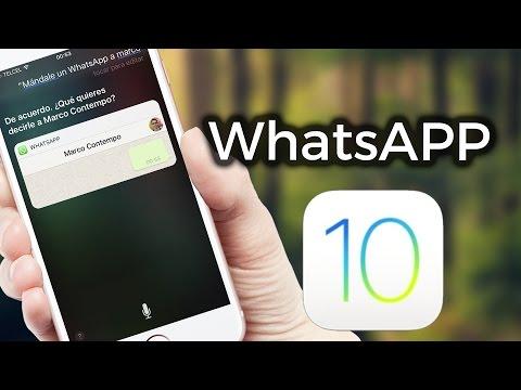 Nuevas Funciones WhatsApp iOS 10 | ZIDACO