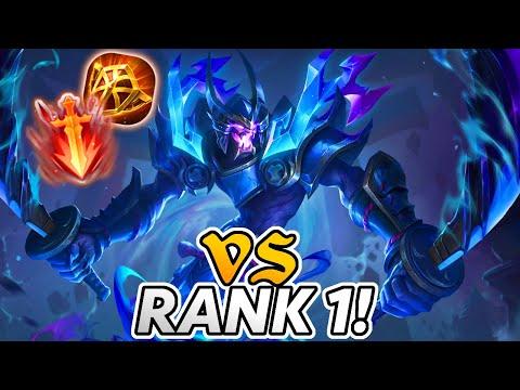 Tank Zill vs RANK 1 Jungler! | Arena of Valor