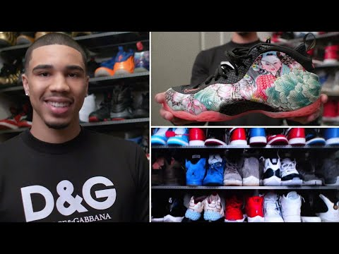 Jayson Tatum's Rare Sneaker Collection | Collected | GQ