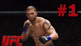 UFC Undisputed 3 Heavyweight Career Part 1 (Knockout City) [HD]