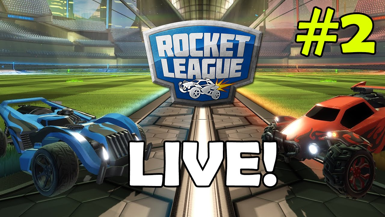 Rocket League 2 Bildschirme