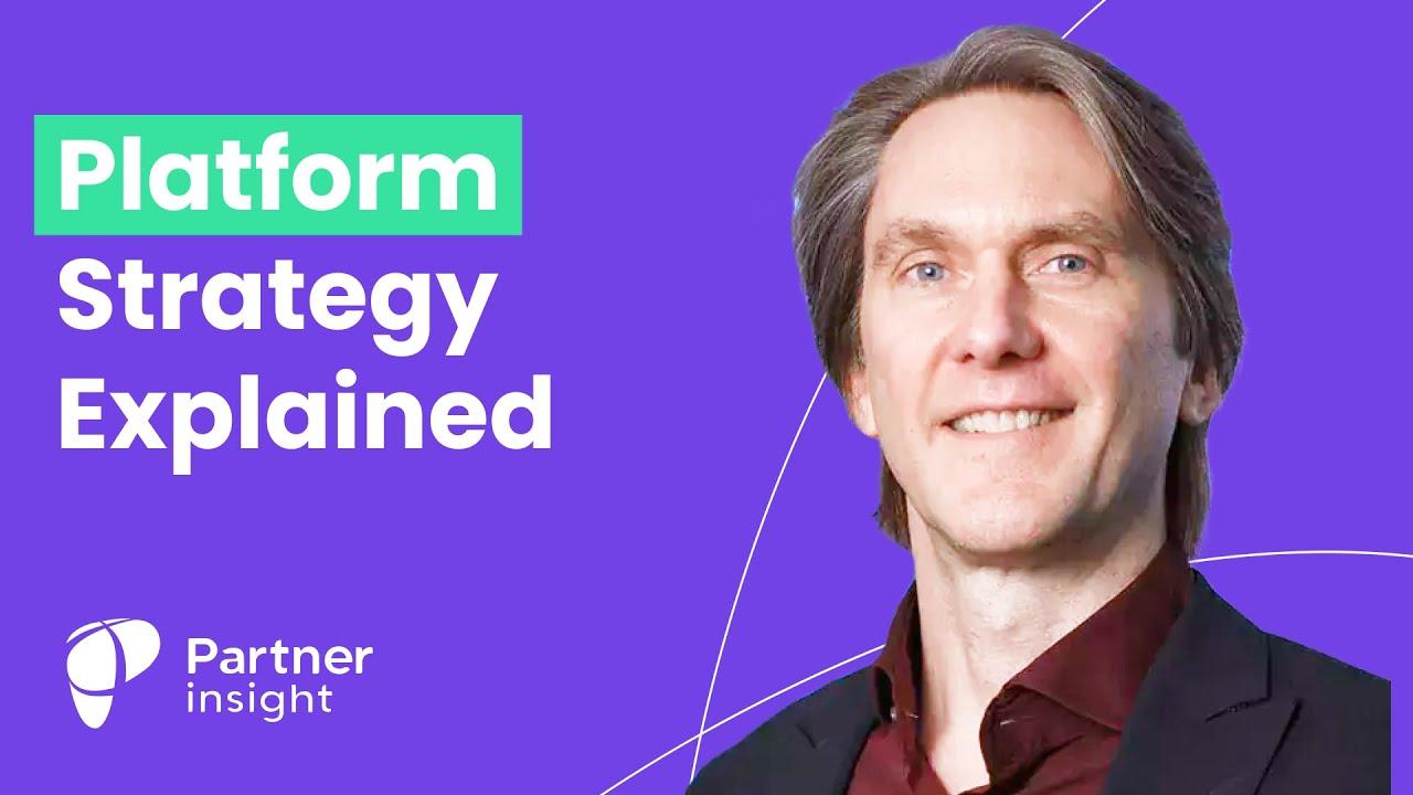 Platform strategy explained w/ Marshall Van Alstyne, co-author of Platform Revolution