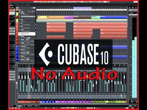 Cubase 10 No Audio