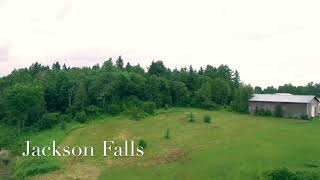 Drone shots of Carleton county