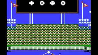 Major League Baseball NES Biggest Blowout 142-0 Part 1 of 5