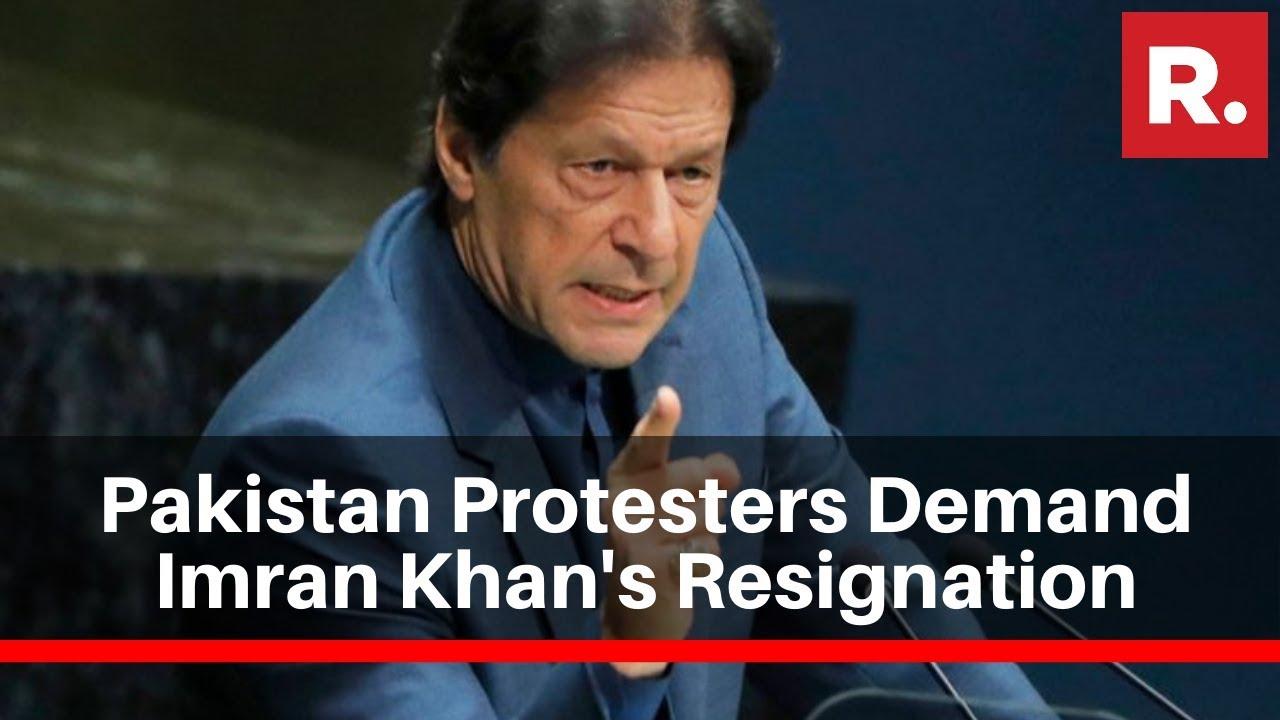Protesters In Pakistan Block Major Highways; Demand Pak PM Imran Khan's Resignation