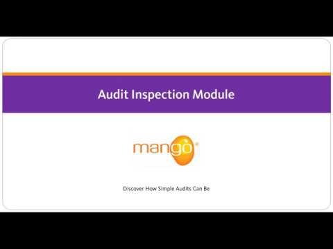 Mango - Audit Inspection Module