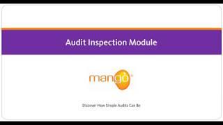 Mango - Audit Inspection Module