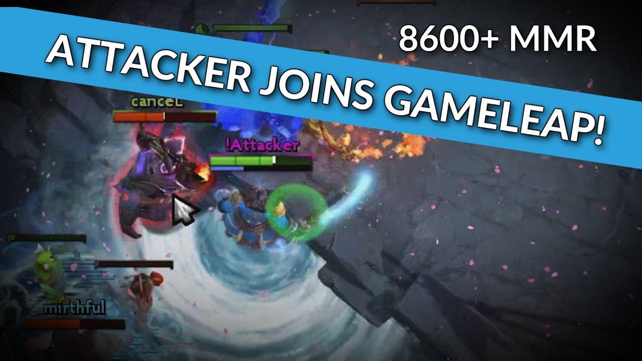 ATTACKER JOINS GAMELEAP 86K MMR BEST KUNKKA IN THE WORLD Dota 2 Pro Guide Trailer YouTube