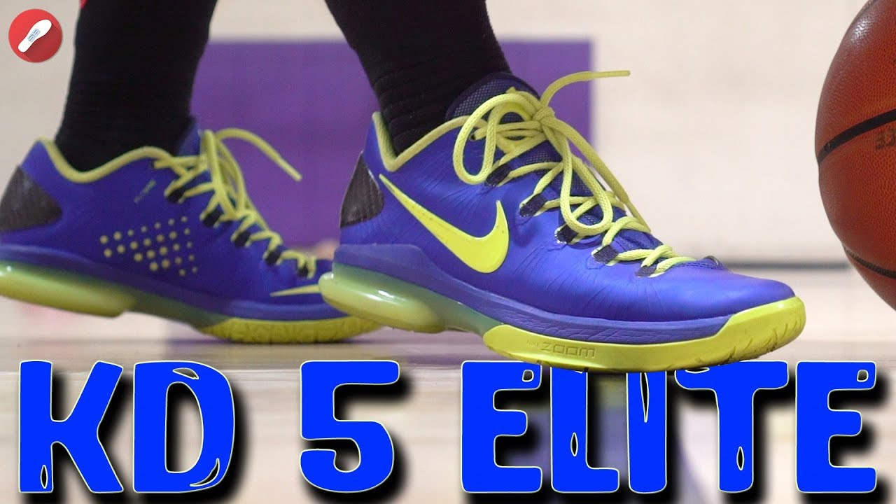 882d8771bb90 Throwback Does It Still Basketball ! Nike Zoom KD 5 Elite! - YouTube