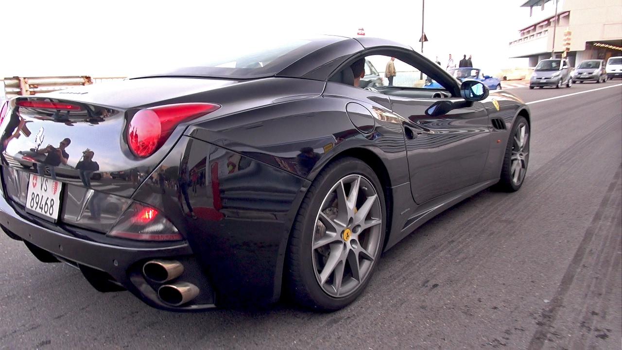 Ferrari California - Lovely Exhaust Sounds! - YouTube