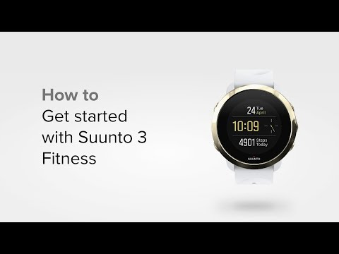 Suunto 3 Fitness - How to get started