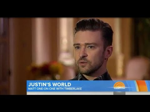 Justin Timberlake Defends Miley Cyrus on Good Morning America!