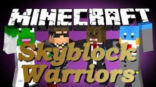 Minecraft SKYBLOCK WARRIORS w/ SkyDoesMinecraft, Kermit, and HuskyMudkipz #4