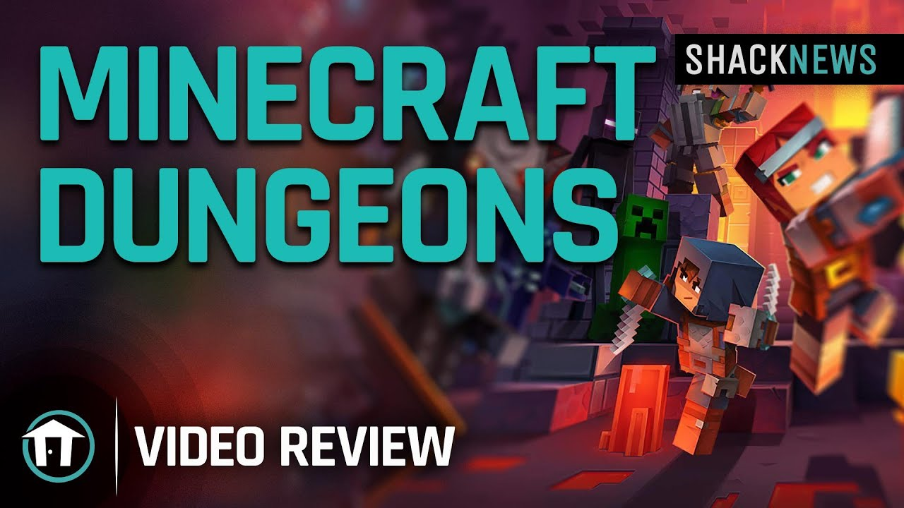 Minecraft Dungeons Review - Shacknews