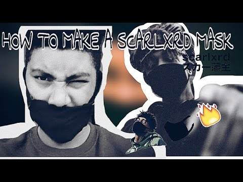 HOW TO MAKE A SCARXLRD MASK *CHEAP AND EASY*