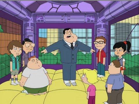 American Dad! Stan Breaks Down While Bouncing