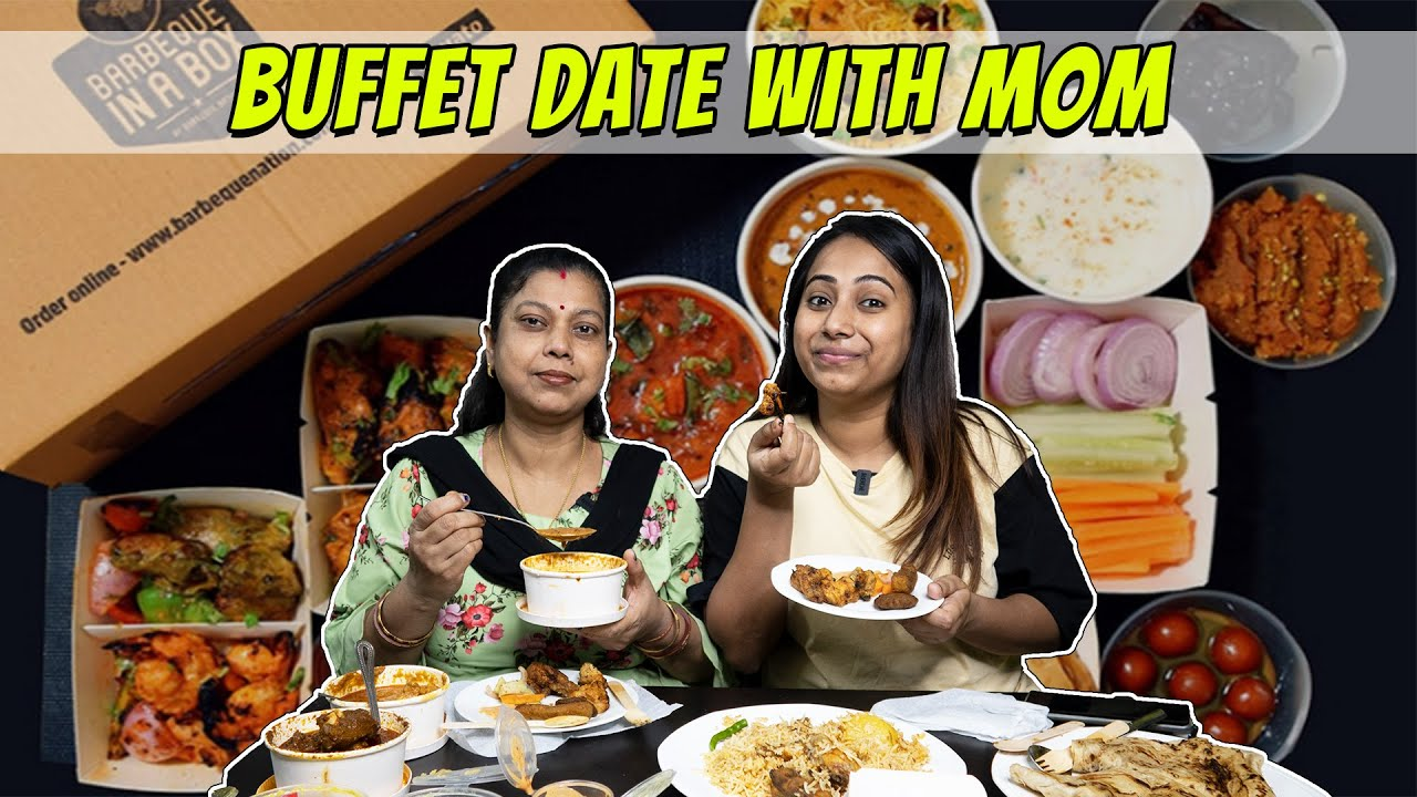 BBQ Nation Buffet in Box Honest Review, Is It Worth?🤔   Lunch date with Mom👩👦