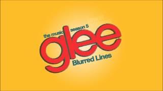 Blurred Lines - Glee Cast [HD FULL STUDIO]