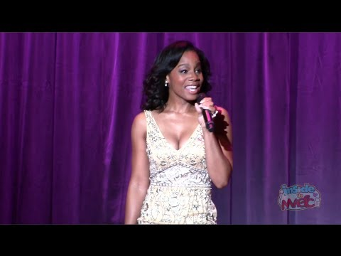 """Anika Noni Rose (voice of Tiana) performs """"Almost There"""" at the 2011 D23 Expo"""