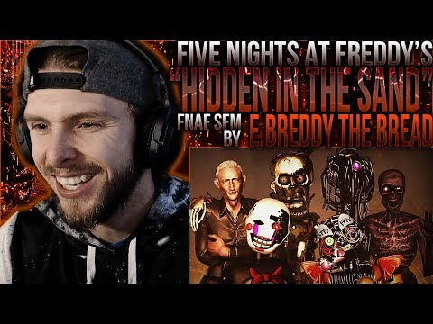 "Vapor Reacts #799 [FNAF SFM] VALENTINE'S DAY SFM ""Hidden In The Sand"" By E.Breddy The Bread REACTION"