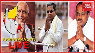 Karnataka Polls Live | Polling Begins; Congress, BJP & JD(S) Locked In  3 Cornered Battle