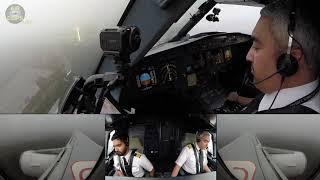 Perfect A320 Landing despite LOW Cloud Base in Frankfurt: Captain Zuhair of Saudia! [AirClips]