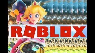 Mario Kart GRATIS  en ROBLOX!! Y GANAMOS EL PRIMER LUGAR!!!