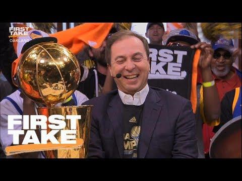 Joe Lacob Shares Secret To Warriors' Success | First Take | June 13, 2017
