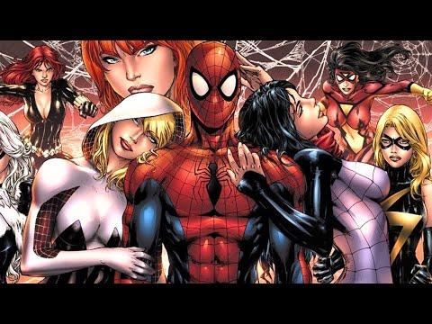7 Personajes que se ACOSTARON con SPIDERMAN