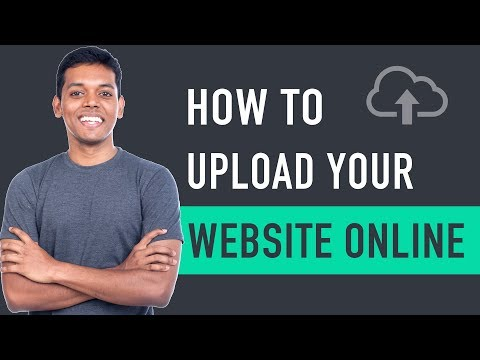 How to Upload Your Website To The Internet