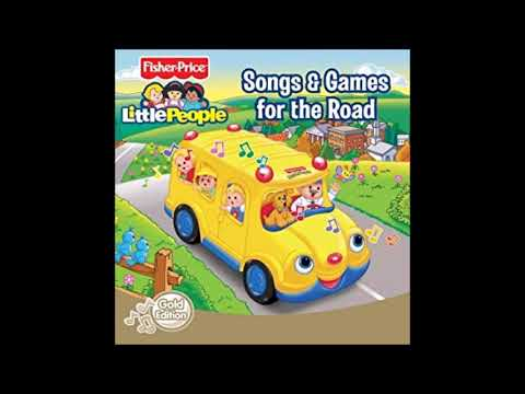 Fisher Price: Little People: Songs And Games For The Road (2003) CD