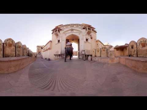 Devarshi Shah - TVC Rajasthan toursim 360 degree video amber fort