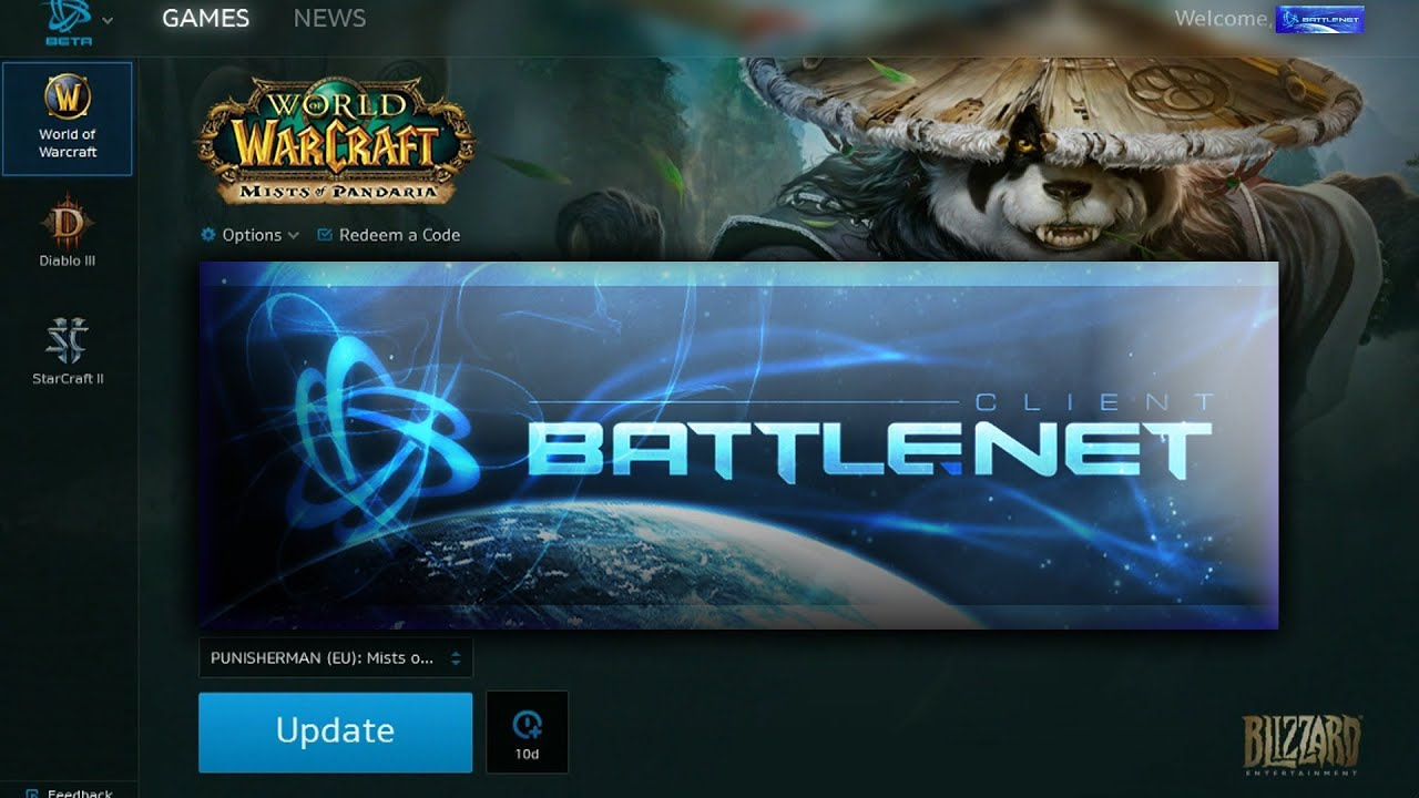 Battle net blizzard скачать