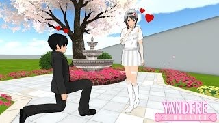 SENPAI DEMANDE AYANO EN MARIAGE ! - Yandere Simulator Défis Pose Mod #2