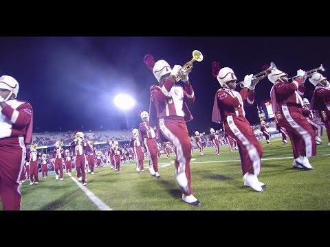 Alabama A&M Band - Halftime Show vs. MTSU (2016)-With Aerial Sky Footage