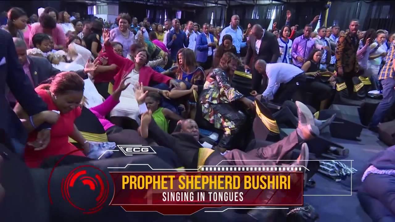 Singing in Tongues | Demonstration of Gods Power | Prophet Shepherd bushuri