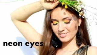 НЕОНОВЫЙ макияж NEON MAKEUP tutorial(, 2013-07-25T12:11:44.000Z)