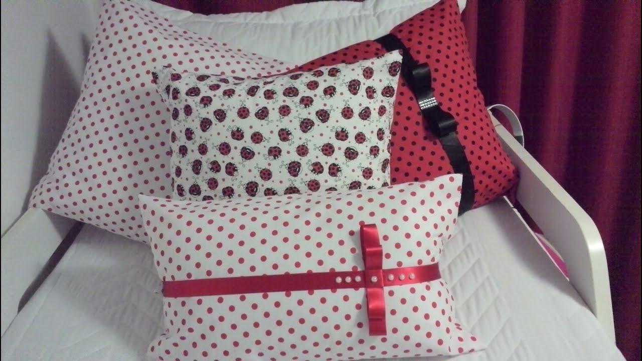 88ecb21b42473 Capa para almofada sem costura  DIY - Faça você mesmo - YouTube