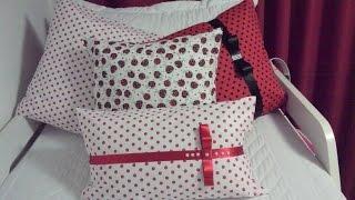 Capa para almofada sem costura
